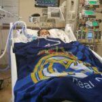 Daniel in hospital